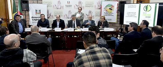 Comissão de Agricultura lança Prêmio Folha Verde na Expointer