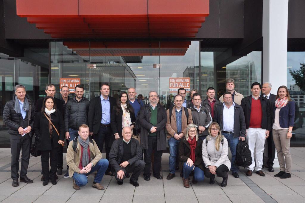 Viagem de estudos na Alemanha encerra com visita à DGRV