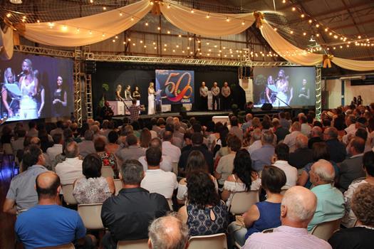 Coprel celebra 50 anos com homenagens