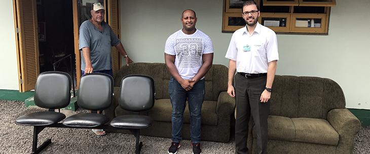 Unimed Vale do Caí realiza doação para Casa de Idosos