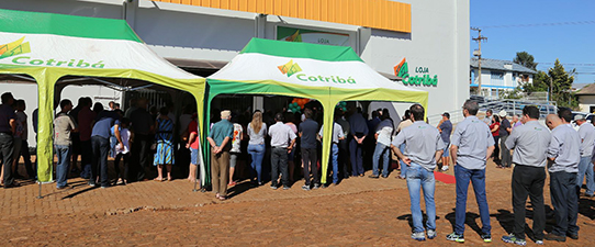 Loja Cotribá abre as portas em Quinze de Novembro