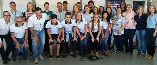 Programa Aprendiz Cooperativo do Campo promove interação em Santa Rosa