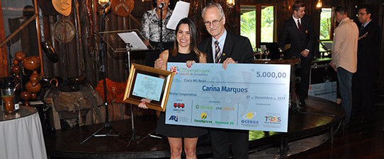 Prêmio de Jornalismo estimula participação de cooperativas