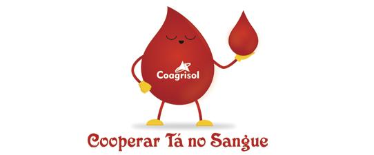 Dia do Afeto e campanha Cooperar Tá no Sangue serão as atividades da Coagrisol no Dia C
