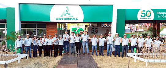 Cotrirosa e Coopermil encerram Fenasoja com mais de R$ 18 milhões comercializados