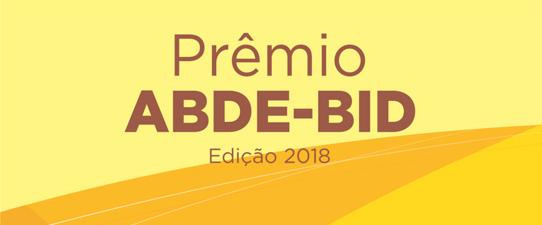 Prêmio ABDE-BID recebe inscrições de artigos sobre desenvolvimento