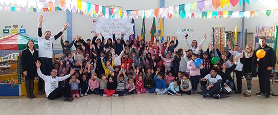 Cooperativa Vinícola Garibaldi realiza ação solidária na comunidade