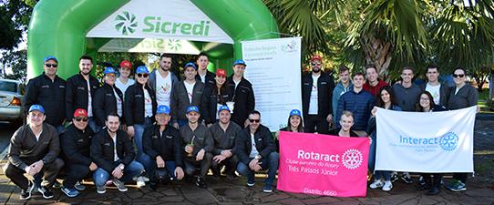 Sicredi Celeiro RS/SC apoia Dia C com ações locais