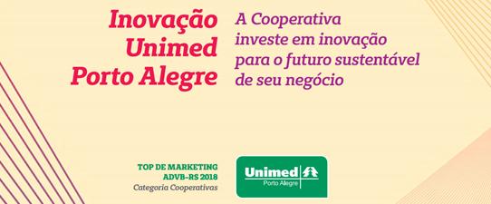 Unimed Porto Alegre é vencedora no Top de Marketing ADVB/RS 2018