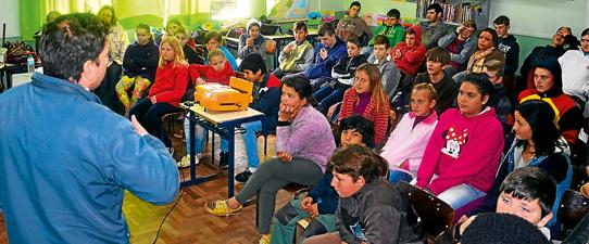 Certel impulsiona eficiência energética em escolas da região