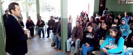 Escola de Vale Verde recebe o programa Aprendiz Cooperativo do Campo