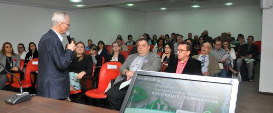 Seminário debate Contabilidade e Tributação das Cooperativas