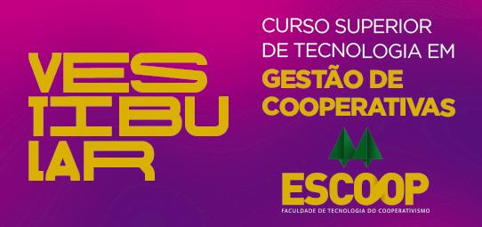 Escoop lança edital do Vestibular 2019