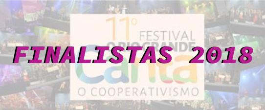 11° Festival O Rio Grande Canta o Cooperativismo define finalistas