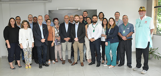 Escoop promove reunião de cooperação em pesquisa