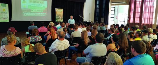 Programa Aprendiz Cooperativo do Campo inicia atividades da segunda turma