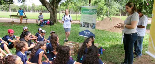 Projeto Eco Cooperação atende escolas no RS