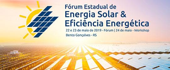 Bento Gonçalves recebe o Fórum Estadual de Energia Solar e Eficiência Energética