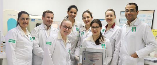 Laboratório Unimed Missões é certificado em excelência laboratorial pelo PNCQ por 20 anos consecutivos