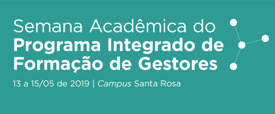 Superintendente do Sistema Ocergs-Sescoop/RS participa da Semana Acadêmica Unijuí