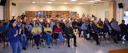 Em apoio ao Maio Amarelo, Certel promove palestras de prevenção a acidentes