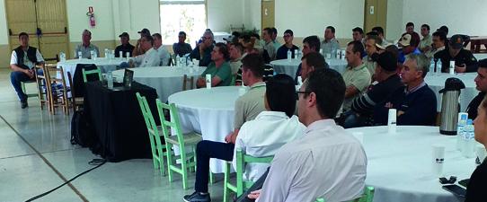 Associados da Cotrirosa recebem premiação em produtividade na soja