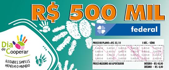 Dia C ilustra bilhete da loteria federal