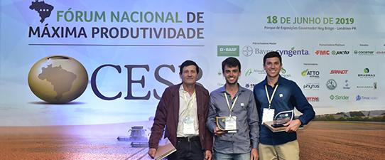 Assistência Técnica da Cotrisal é campeã de Produtividade de soja no Brasil