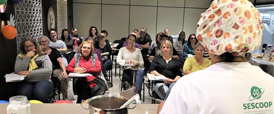 Santa Clara promove Curso de Aproveitamento de Alimentos