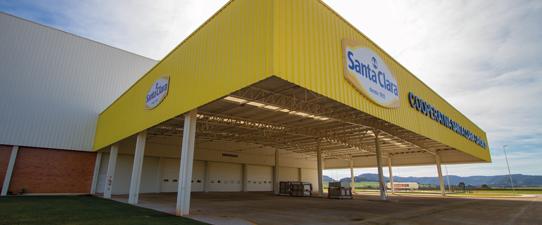 Santa Clara inaugura nova indústria em Casca dia 12 de julho