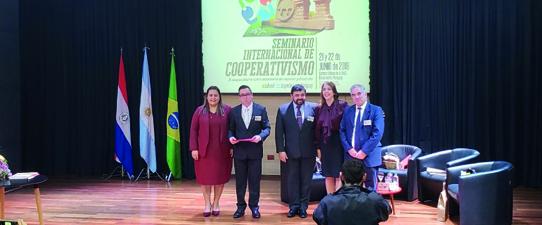 Cooperconcórdia participa do Seminário Internacional de Cooperativismo