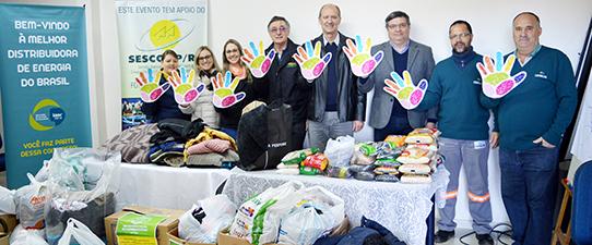 Ijuí recebe doações da Campanha do Agasalho da Ceriluz