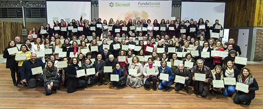 Sicredi Serrana destina mais de R$ 1 milhão através do Fundo Social