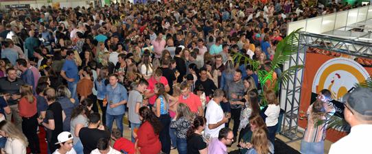 Mais de três mil pessoas participam da 3ª Teutofrangofest