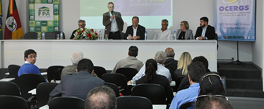 Presidente da Frente Parlamentar da Agropecuária falou para cooperativistas na Expointer