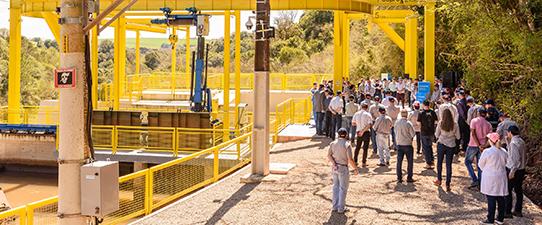 Coprel inaugura ampliação, modernização e automação da Usina Cascata do Pinheirinho