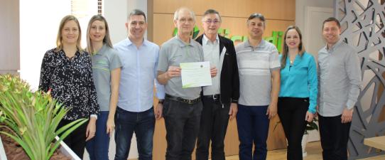 Sicredi das Culturas recebe certificado de emissão zero de Gases de Efeito Estufa