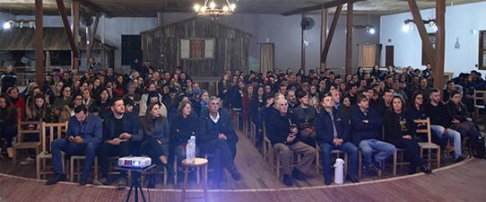Mais de 1,5 mil pessoas acompanharam palestras promovidas pela Coagrisol
