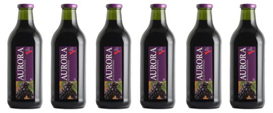 Vinícola Aurora triplica exportações de suco de uva integral em 8 meses
