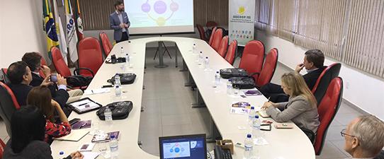 Delegação da Argentina realiza intercâmbio com cooperativismo brasileiro