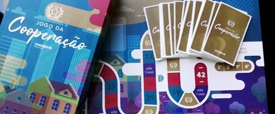 Unicred Porto Alegre destaca os princípios do cooperativismo no Jogo da Cooperação