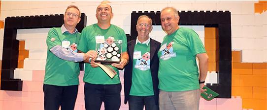 Cotrijal recebe o prêmio Ideas For Milk de Inovação