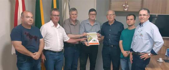 Coopatrigo oficializa projeto para construção de nova Unidade em São Borja