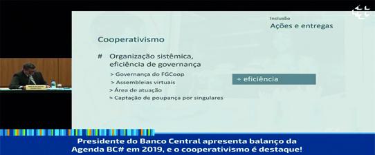 Cooperativismo é destaque em balanço da Agenda BC#