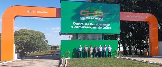 Central de recebimento e armazenagem de grãos Coopatrigo inicia operação