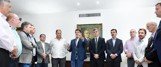 Ocergs participa da troca de comando da Frente Parlamentar da Agropecuária Gaúcha