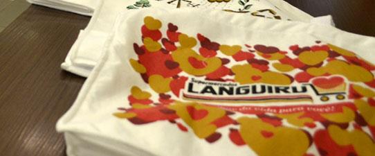 Languiru investe em sacolas ecológicas propondo engajamento da sociedade