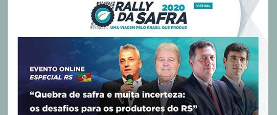 Cotrijal promove evento on-line com os números do Rally da Safra