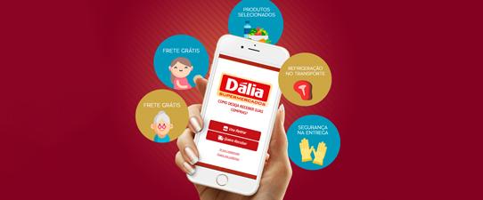 Dália Alimentos disponibiliza compras através do Super Dália Online