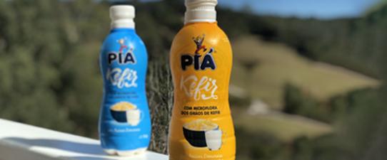 Linha de bebidas fermentadas com kefir da Piá cresce 14% no quadrimestre